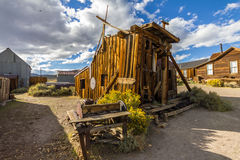 Old wooden house, ghost town Bodie Royalty Free Stock Photos