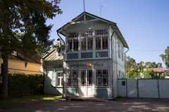 Free Old Wooden House In Jurmala, Latvia Royalty Free Stock Images - 137534979