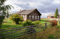 Old Wooden House In North Russia Royalty Free Stock Photos