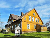 Old wooden  house, Lithuania Stock Image