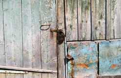 Old wooden house on the lock Stock Photos