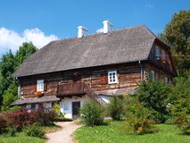 Old wooden house, Lublin, Poland Stock Photo