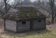 Old wooden house - medieval. Old house made from wood - medieval Royalty Free Stock Images