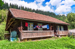Old wooden house Stock Photos