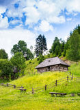 Old wooden house. Royalty Free Stock Images