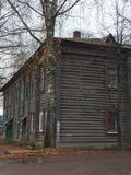 Old wooden house in Russia. Architecture royalty free stock photo