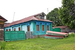 Old wooden house in Russia Stock Photography