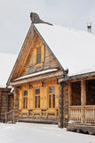 Old wooden house in Russia Royalty Free Stock Photography