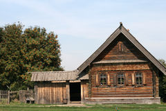 Old wooden house in Suzdal Royalty Free Stock Photo
