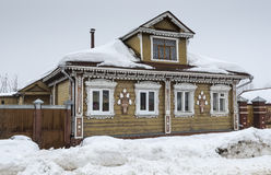 Old wooden house. Suzdal Royalty Free Stock Photo