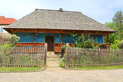 Old wooden house, Ukraine Royalty Free Stock Photography