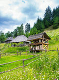 Old wooden house. Stock Image