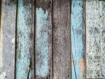 Old wooden house wall. Old wooden house wall blue neil natural floor background pattern design woods stock photography