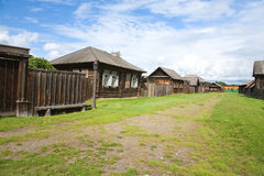 The old wooden houses Royalty Free Stock Images