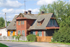 Old wooden houses Royalty Free Stock Photography