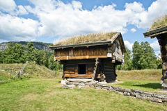 OLD WOODEN HOUSES stock image