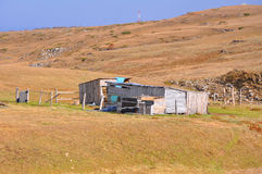 Free Old Wooden Houses On The Plateau Of Lagonaki. Caucasian Reserve, Royalty Free Stock Photo - 91158175