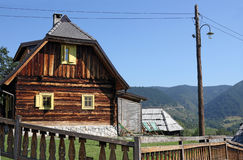 Old wooden hut Stock Photos