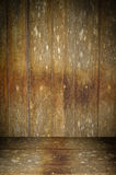 Old wooden interior Stock Photography