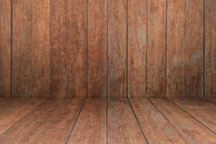 Old wooden interior texture background Royalty Free Stock Images