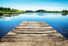 Free Old Wooden Jetty Royalty Free Stock Photos - 46179208
