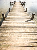 Old wooden jetty Royalty Free Stock Photo
