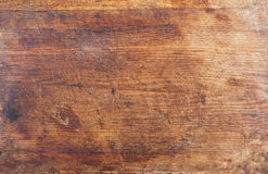 Old wooden kitchen board background Stock Image