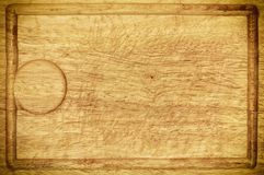 Old wooden kitchen desk board background texture Stock Photos