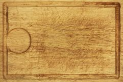 Old wooden kitchen desk board background texture Royalty Free Stock Image