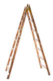 Old Wooden Ladder Stock Photo