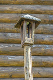 Old wooden lantern Royalty Free Stock Images