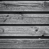 Old wooden lining boards wall Stock Photos