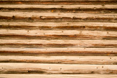 Old Wooden Logs Timber Building Background Royalty Free Stock Photography