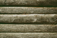 Old wooden logs Royalty Free Stock Photography