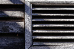 Old Wooden louver Stock Photography