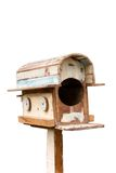 Old Wooden Mailbox Stock Photo