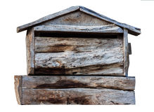 Old wooden  mailbox Stock Photos