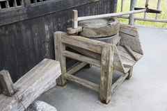 Old Wooden Mill Royalty Free Stock Photos