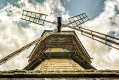 Old wooden mill Royalty Free Stock Photography
