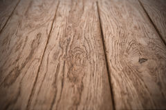 Old wooden oak planks texture Stock Images