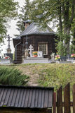 Old wooden orthodox catholic church, Nowica, Poland Royalty Free Stock Photo