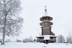 Old wooden orthodox church Royalty Free Stock Photography