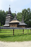 Old wooden orthodox church Royalty Free Stock Images