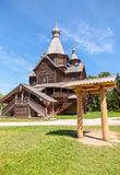 Old wooden orthodox church Stock Images