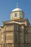 Old wooden orthodox church in Pobirka near Uman -  Royalty Free Stock Photo