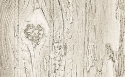 Old wooden painted background in beige dirty color. Royalty Free Stock Photography