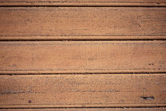 Old wooden painted and chipping paint. Stock Photos
