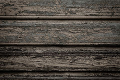 Old wooden painted and chipping paint. Royalty Free Stock Images