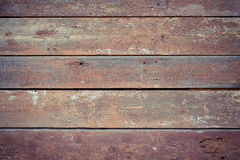 Old wooden painted and chipping paint. Stock Photography