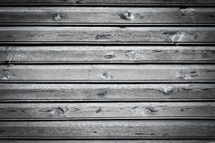 Old wooden painted and chipping paint. Stock Image